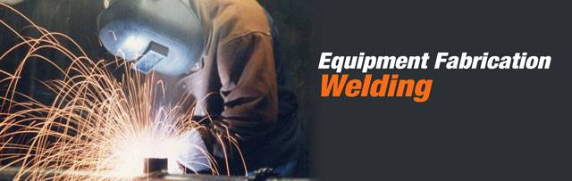 Equipment Fabrication & Welding Professionals offering on-site, mobile welding with a focus on heavy construction equipment welding and water, oil and gas pipe welding troughouth the state of Massachusetts.
